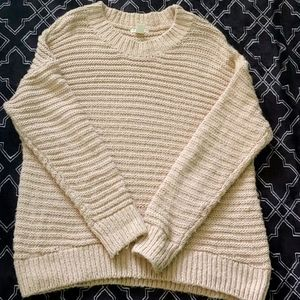 Soft cable knit H&M sweater